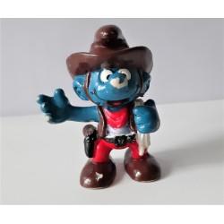 Puffo Cowboy Schleich 1981...