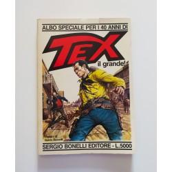 Tex Albo Speciale per i 40...