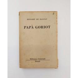Papà Goriot Honorè De...