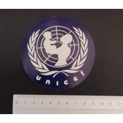 Unicef adesivo anni 80 sticker